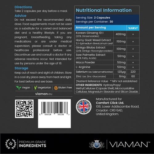 Viaman Volume ingredienser